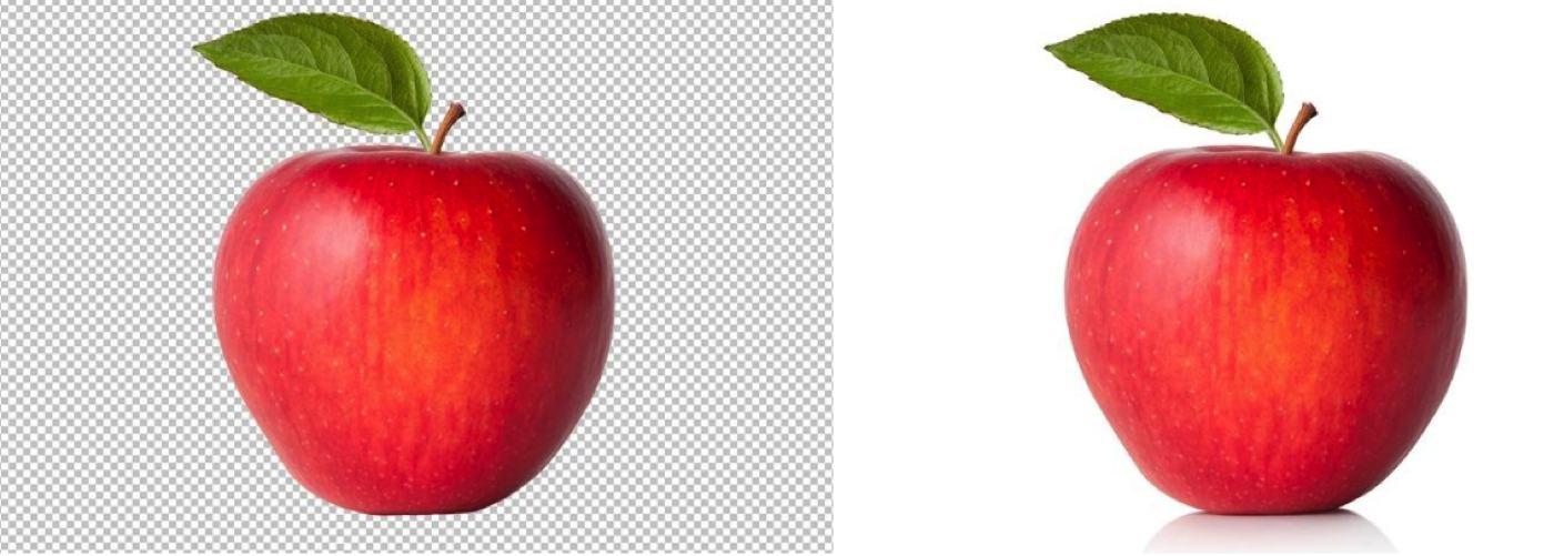 apple background photoshop