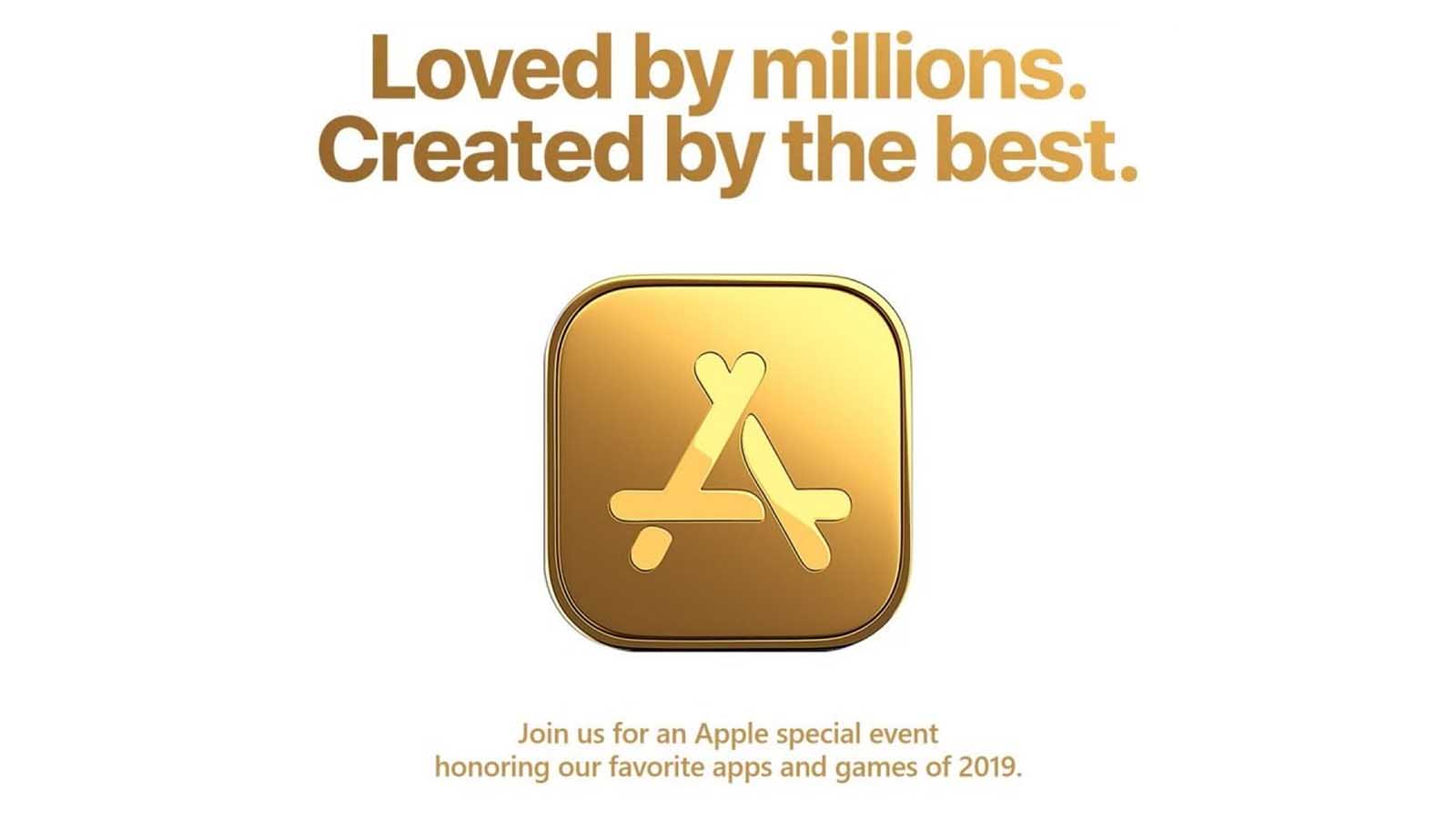 apple event in gold