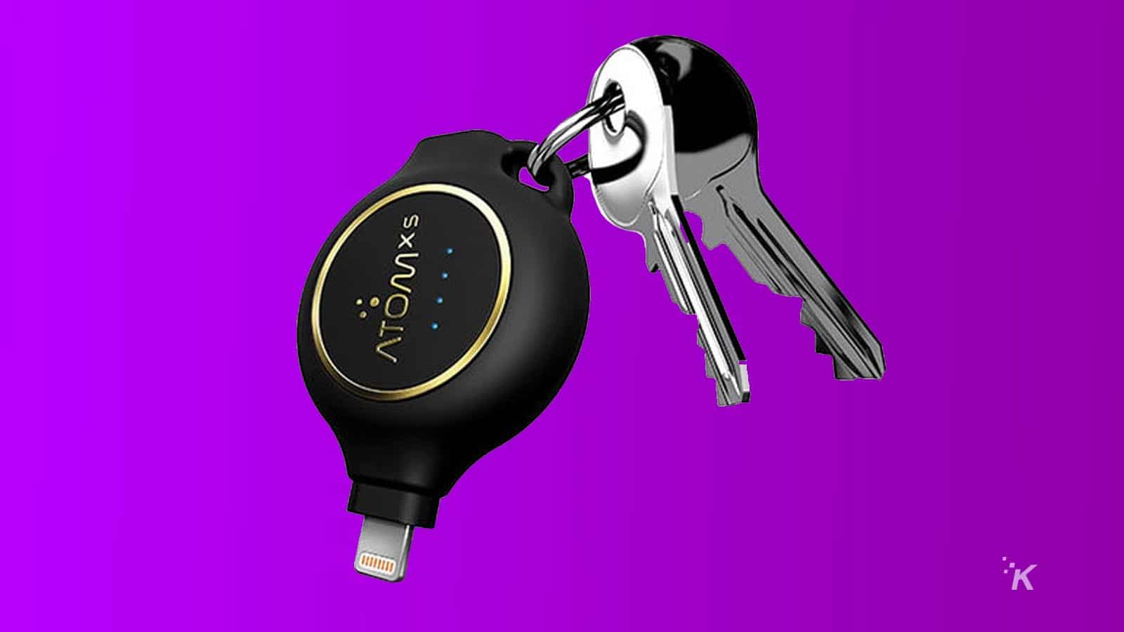 atomx3 keychain charger