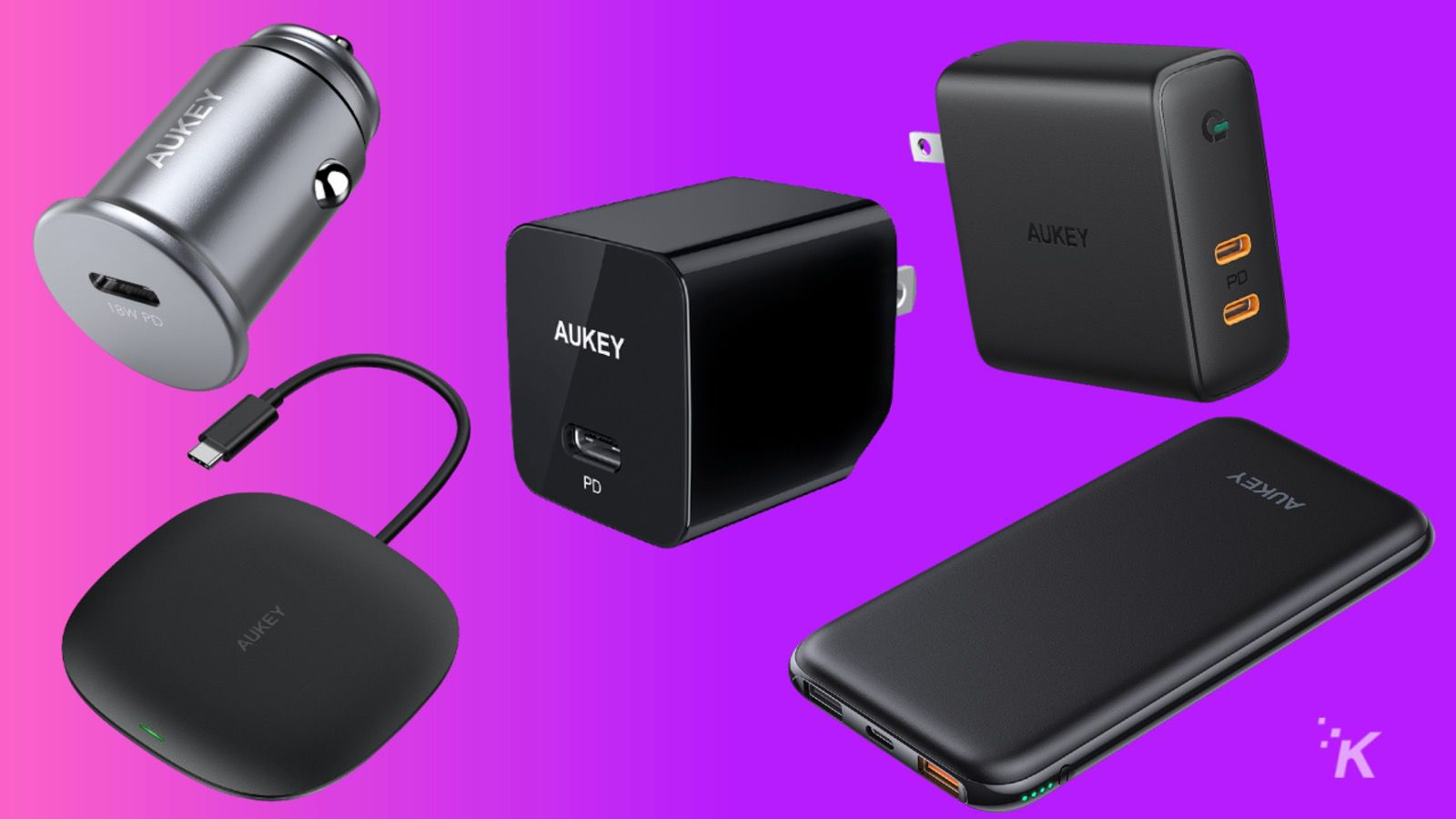 aukey omni power charging