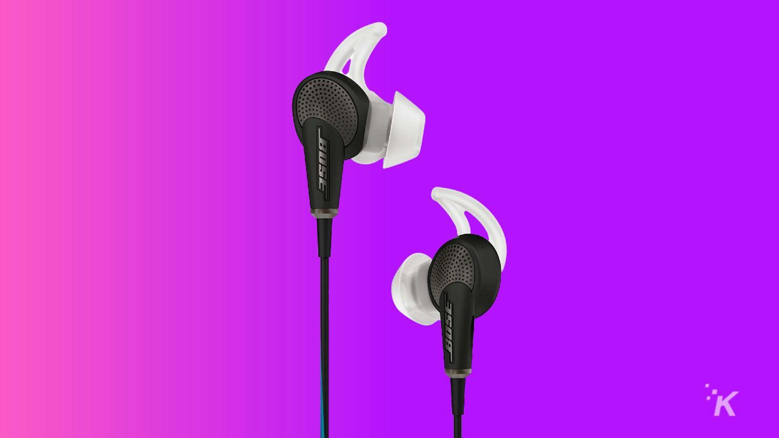 bose quietcomfort 20 best gaming earbuds