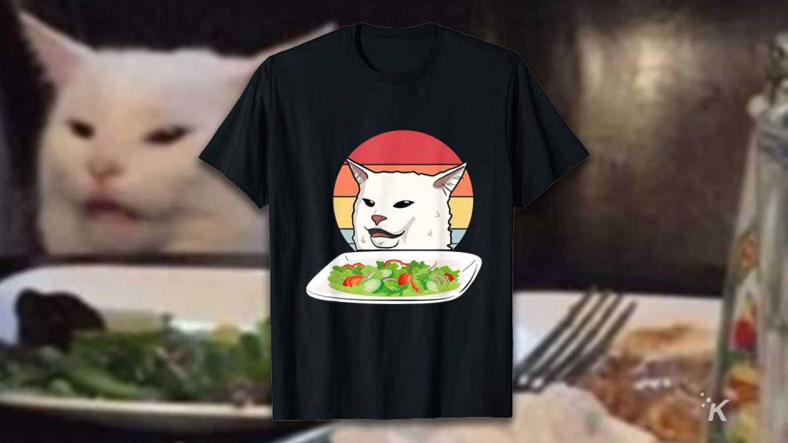 cat meme shirt