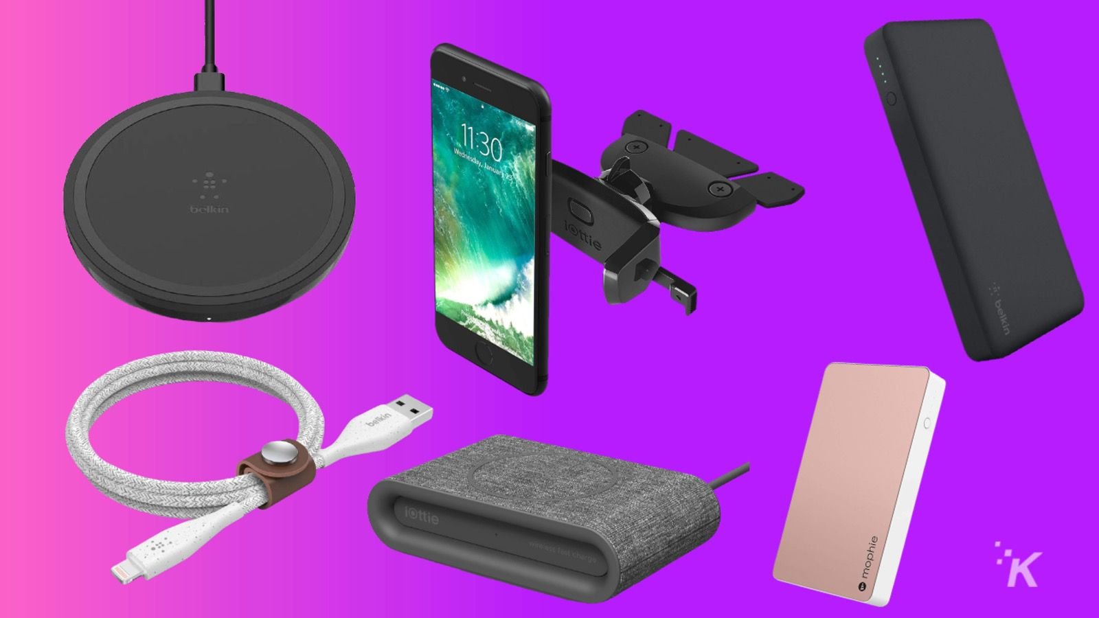 charging gear knowtechie deal