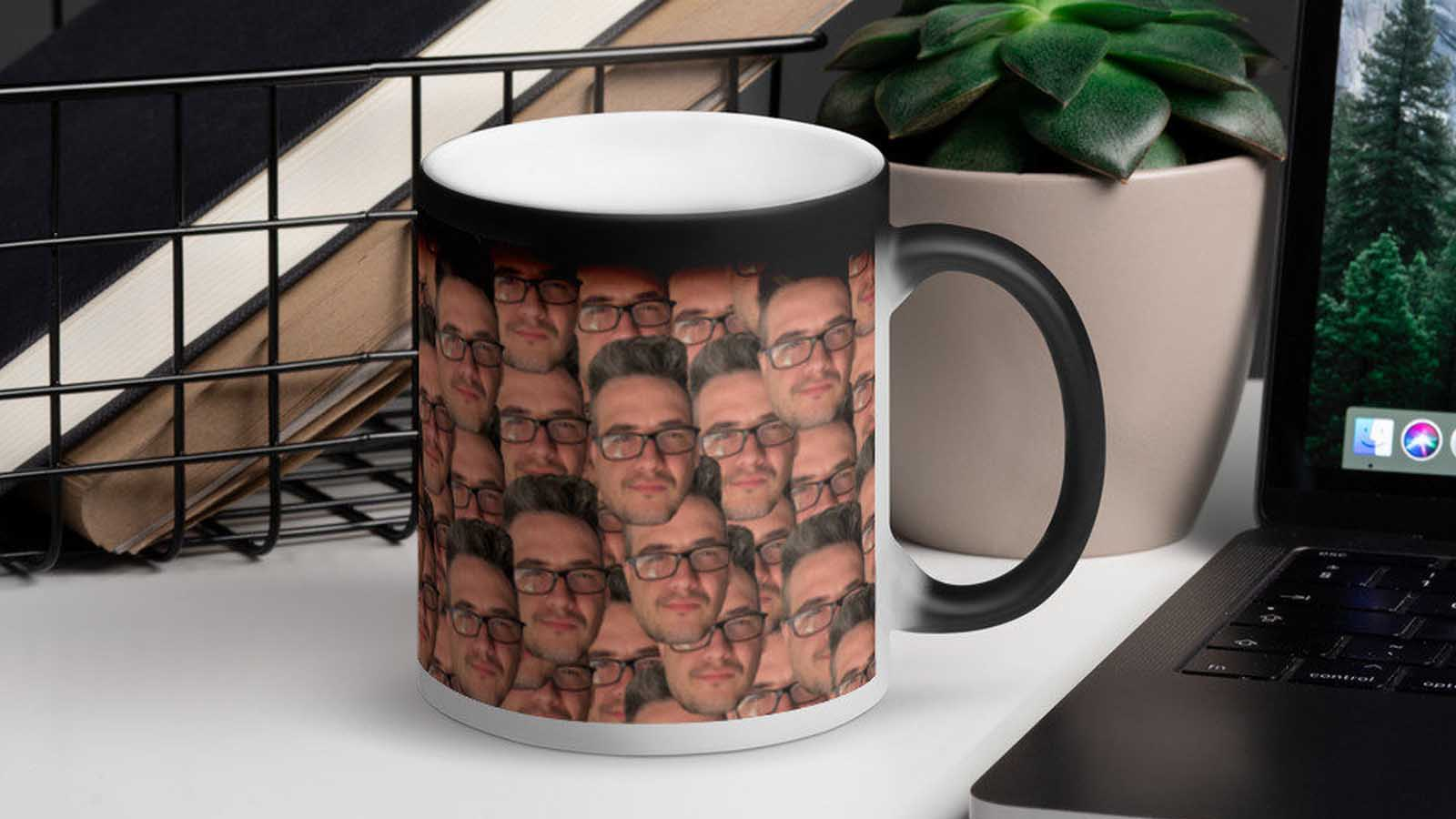 kafo mugs face coffee mug