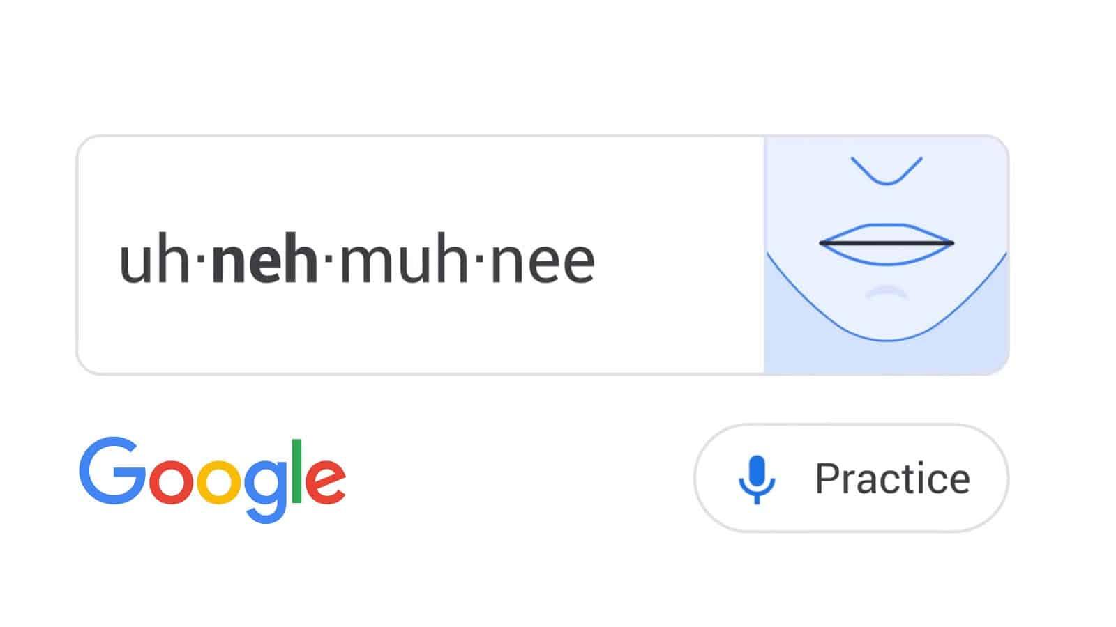 google speech tools on search