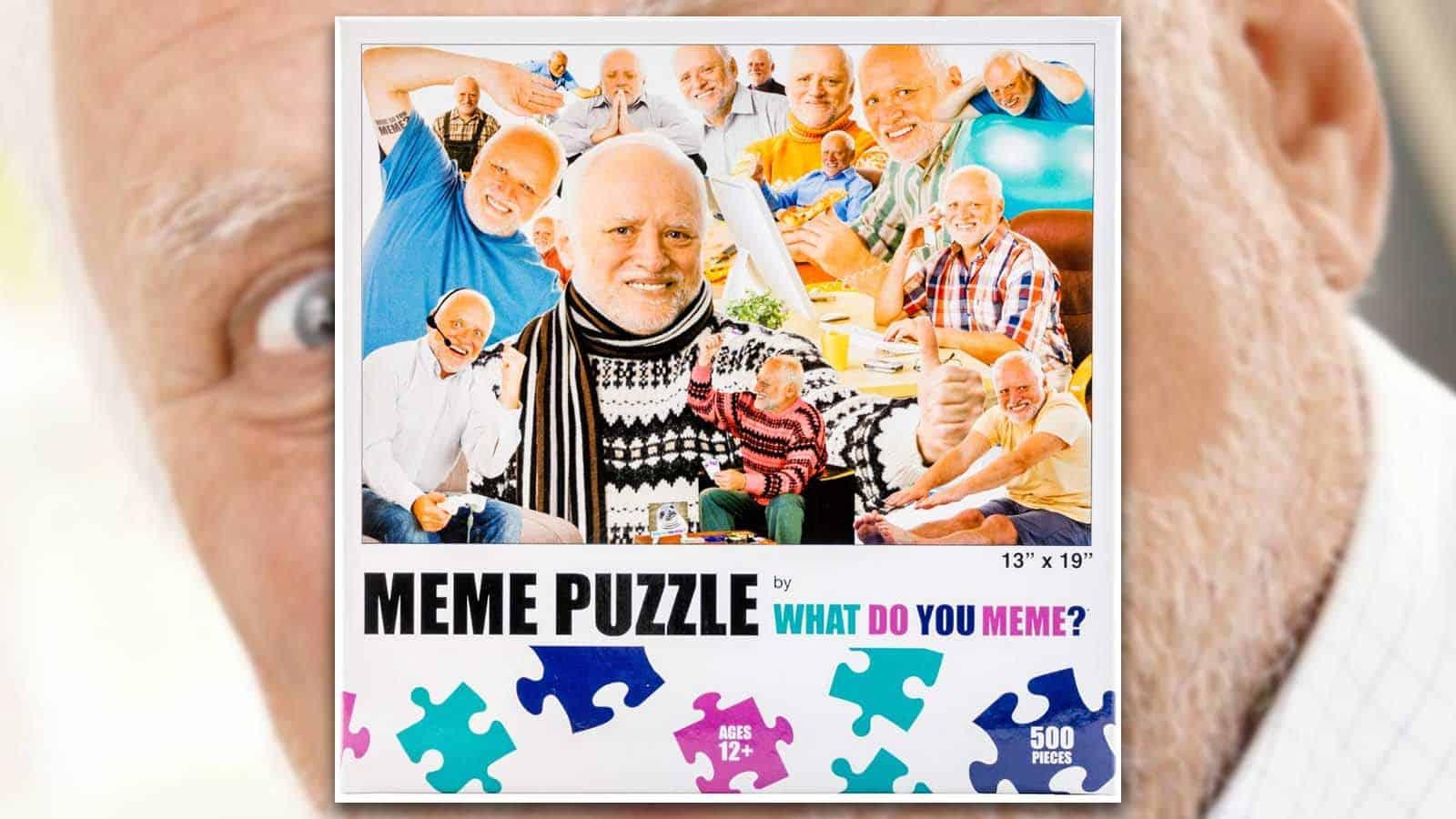 harold meme puzzle