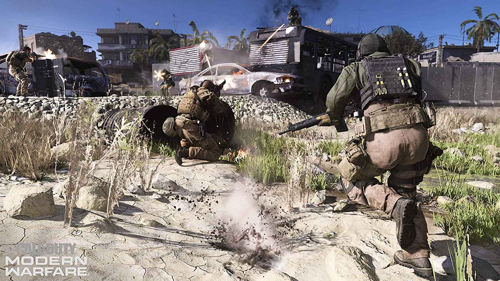 call of duty modern warfare on playstation 4