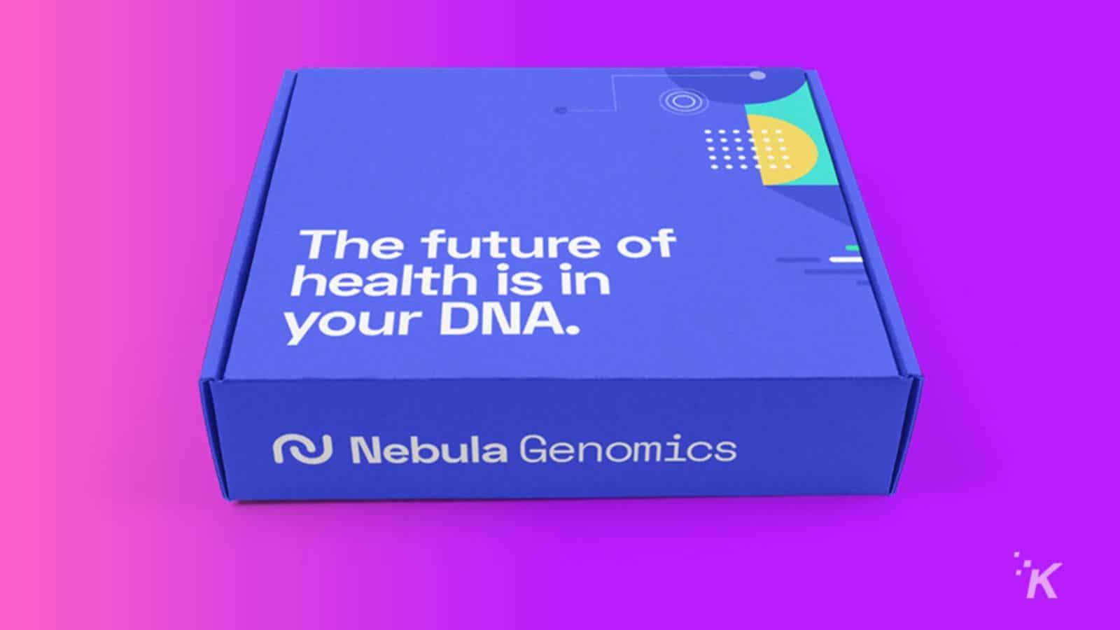 nebula genomics test kit knowtechie
