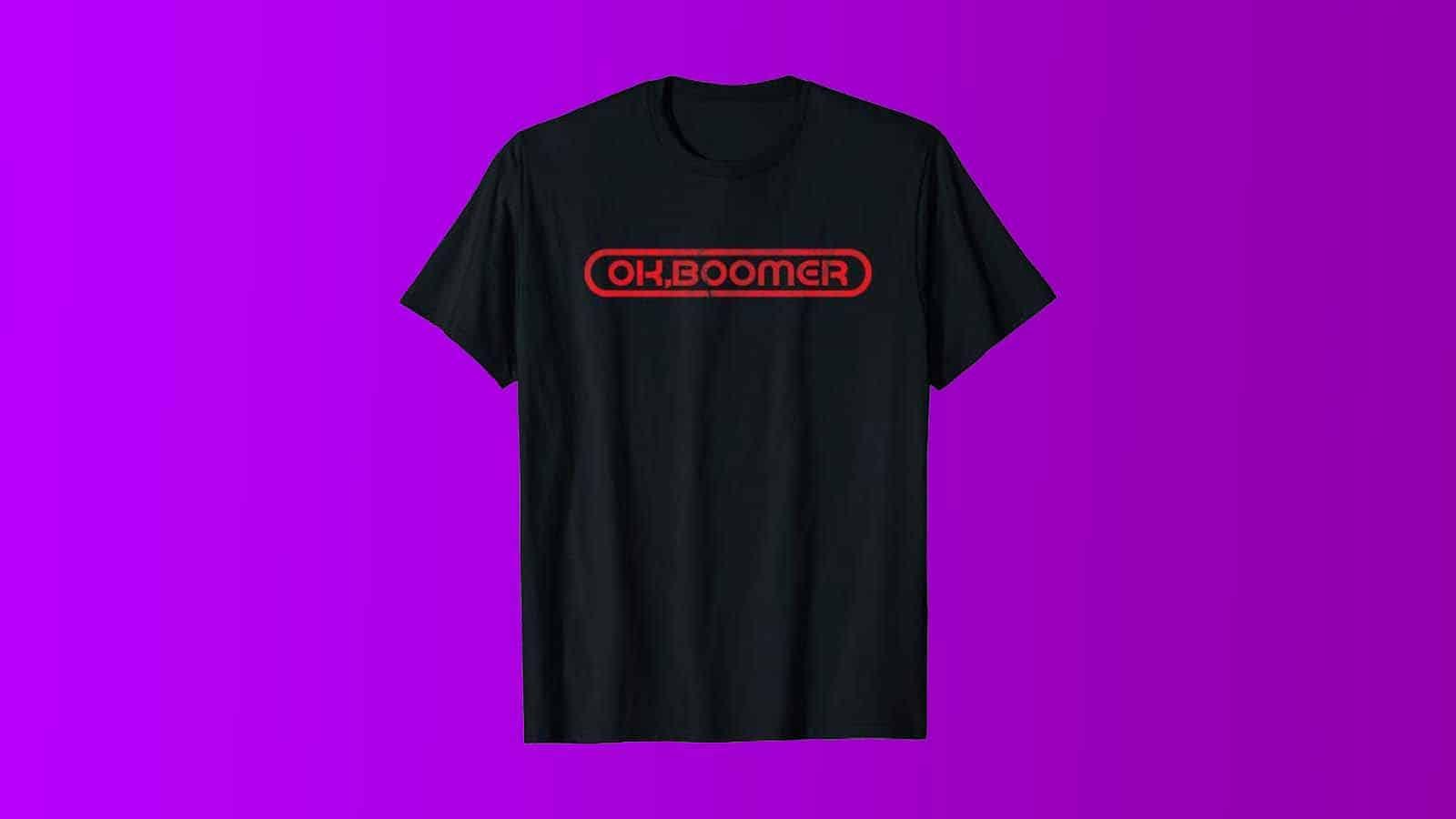 ok boomer tshirt