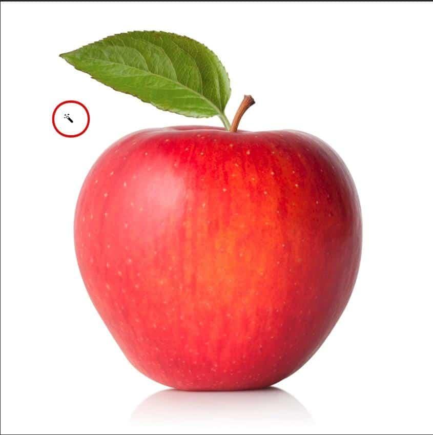 photoshop apple