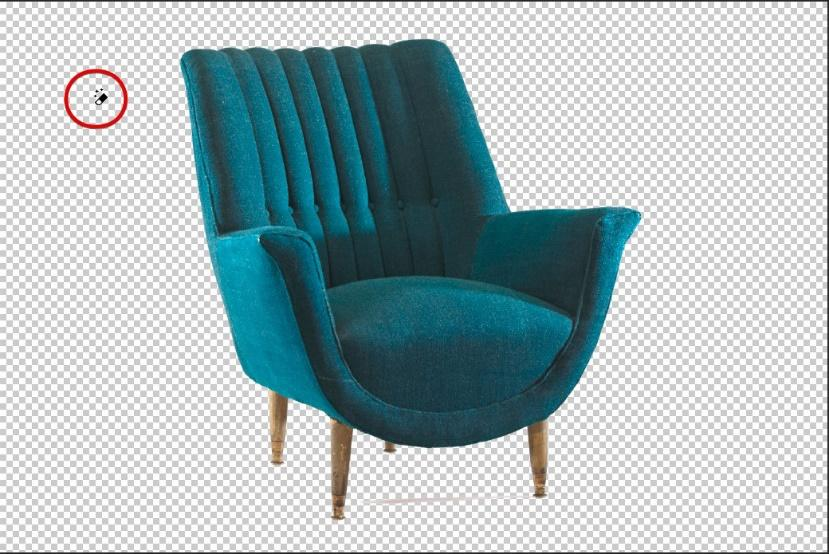 photoshop chair background