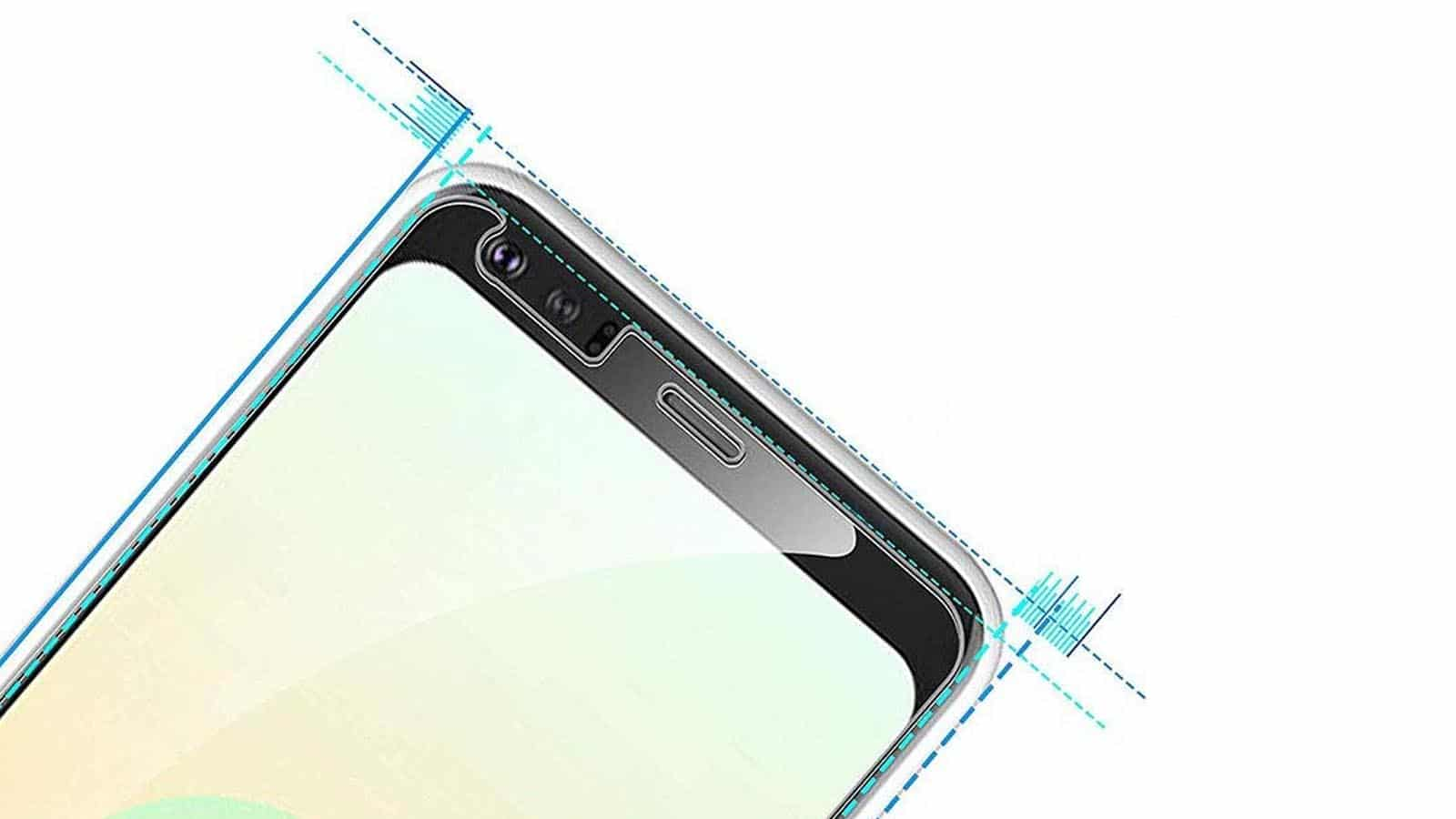 screen protector on phone