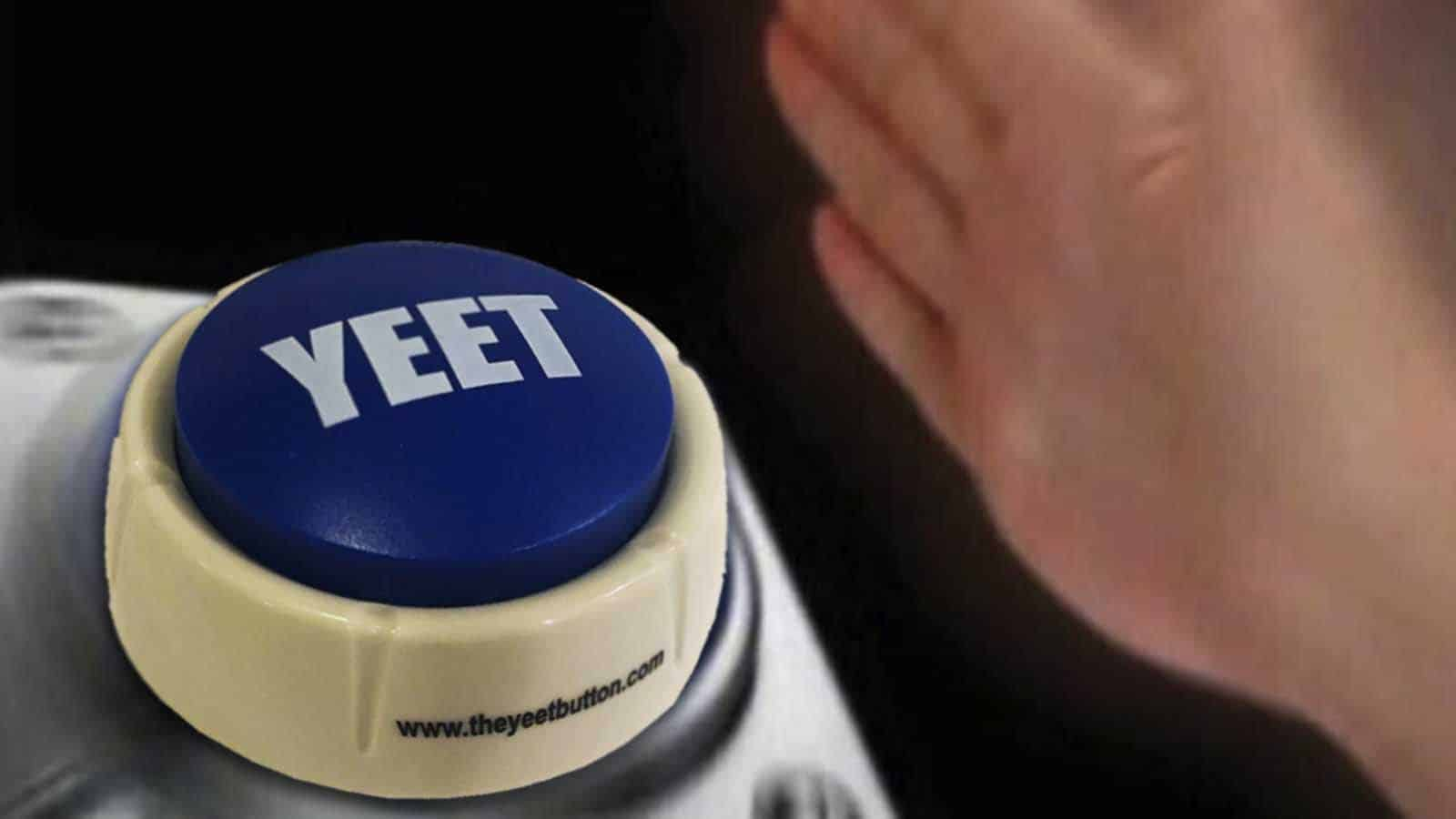 yeet meme button