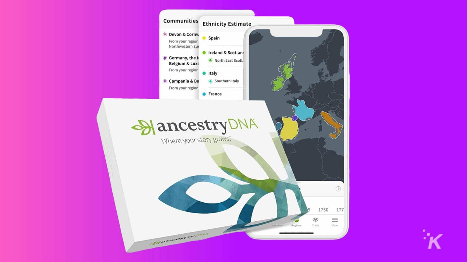 ancestry dna knowtechie gift guide
