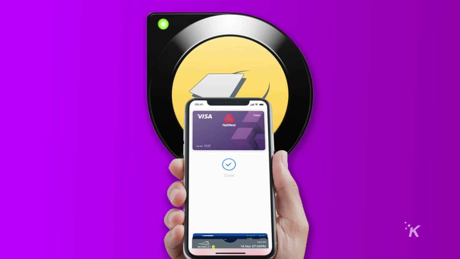 apple pay terminal in london