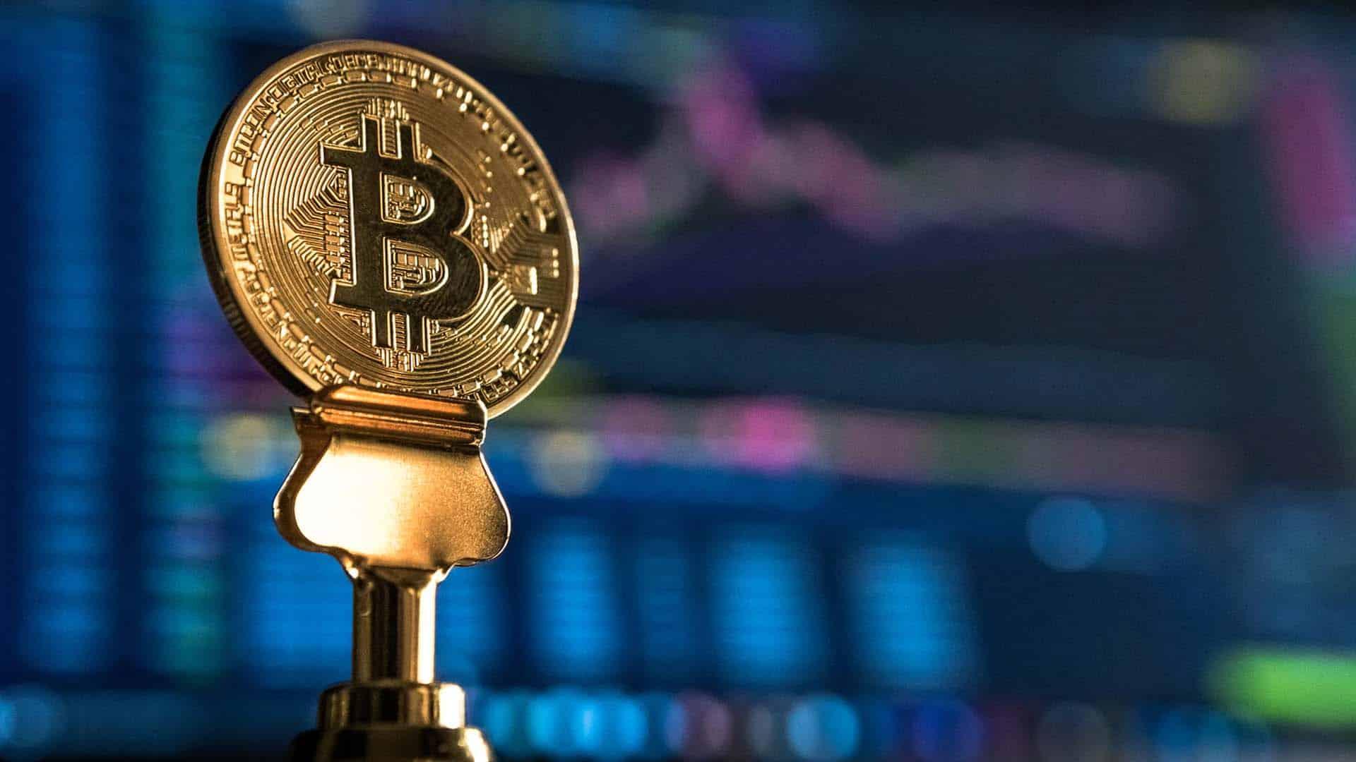 physical bitcoin on table
