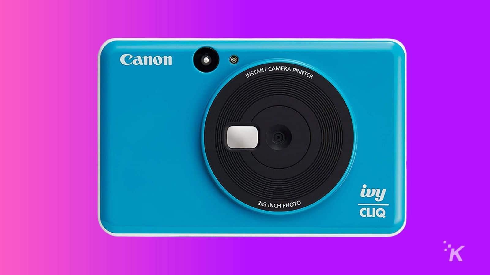 canon ivy cliq instant camera gift guide
