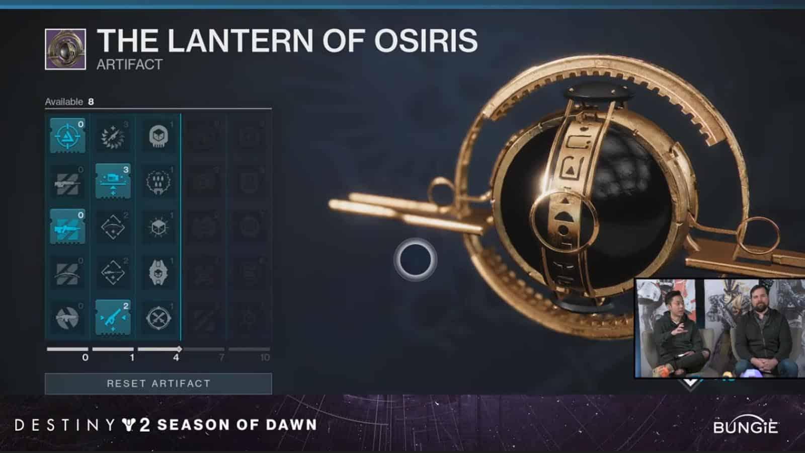 destiny 2 lantern artifact