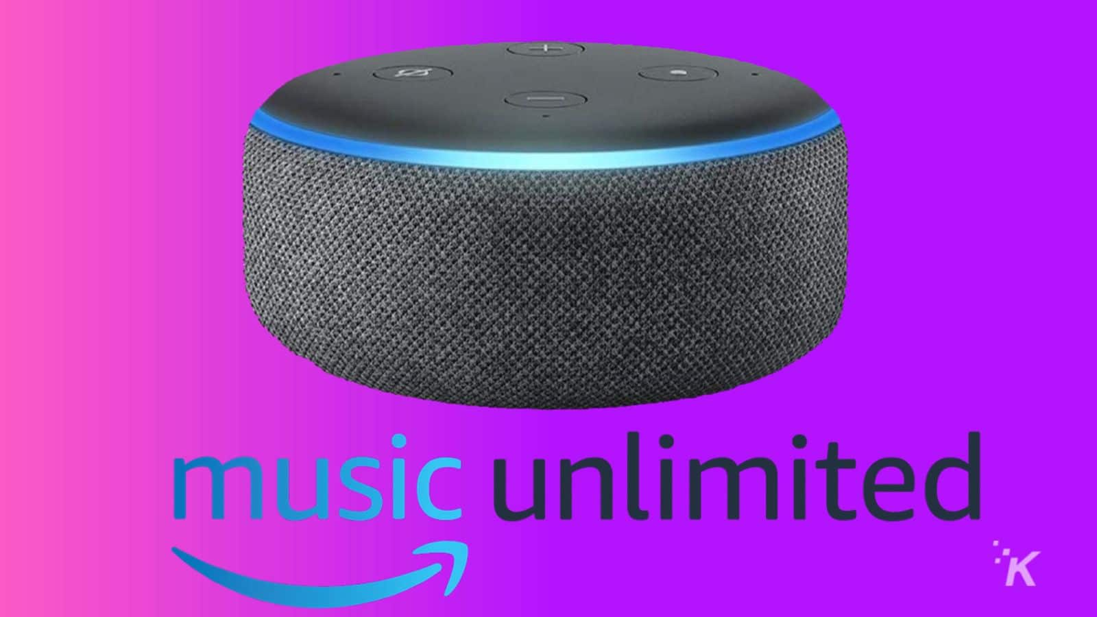 amazon echo dot music unlimited deal knowtechie