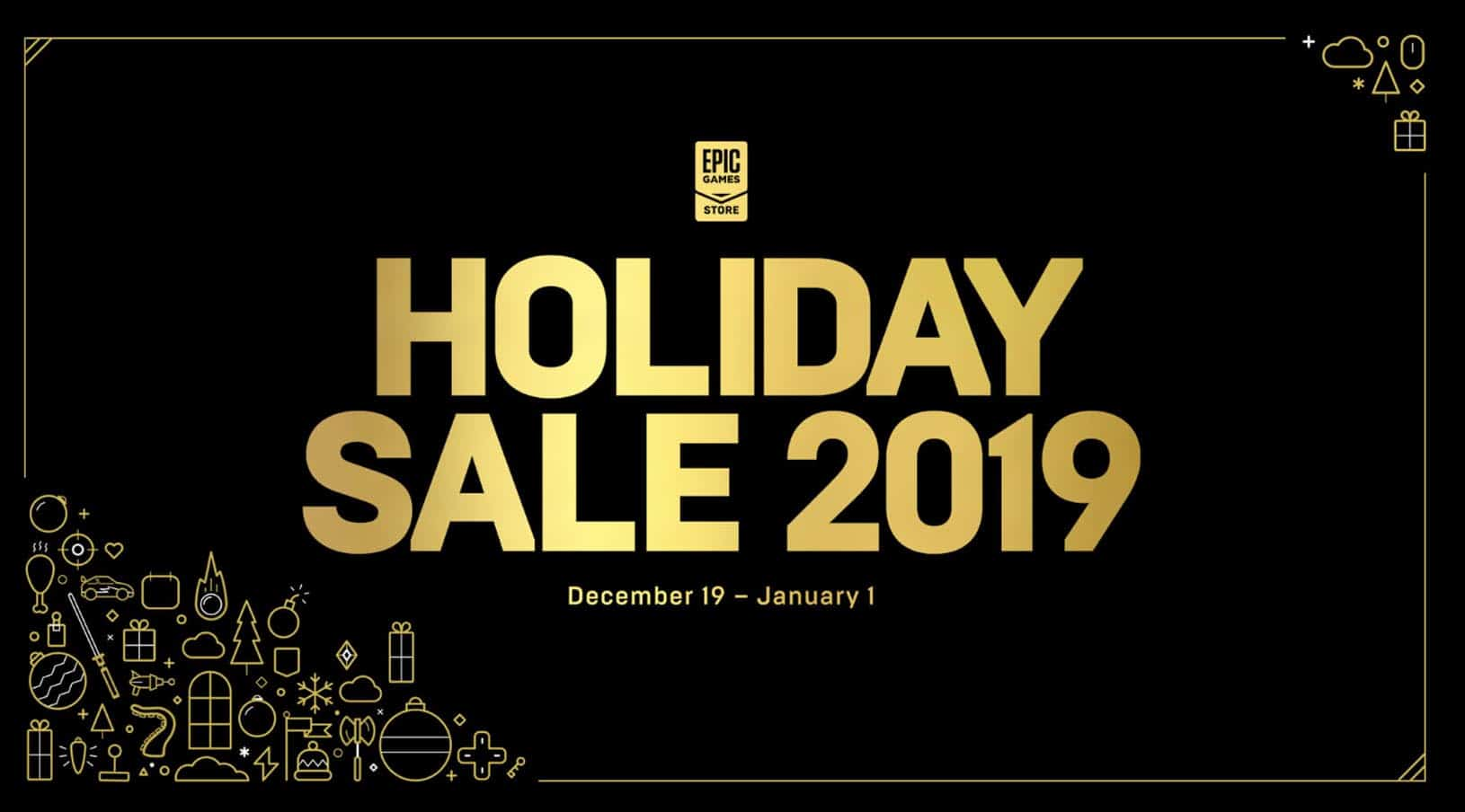 epic games holiday sale