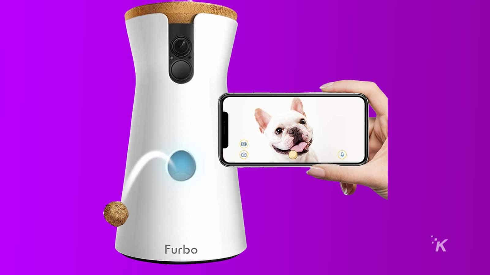 furbo dog treat dispenser