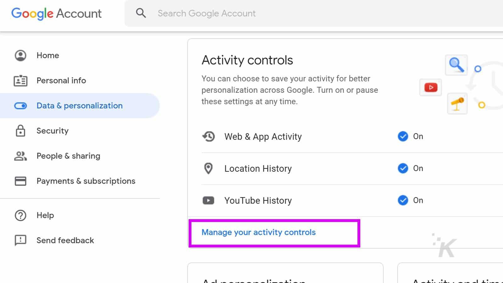 google assistant voice controls