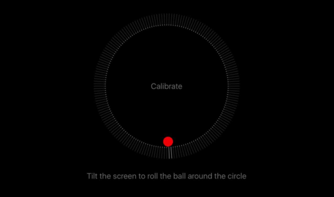 how to calibrate gps compass in ios