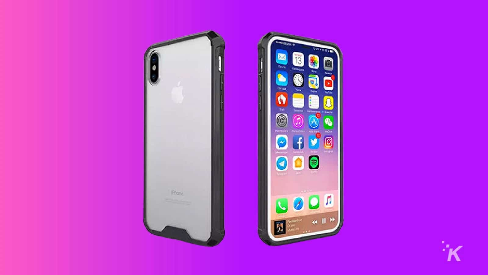 iphone x hybrid cases knowtechie