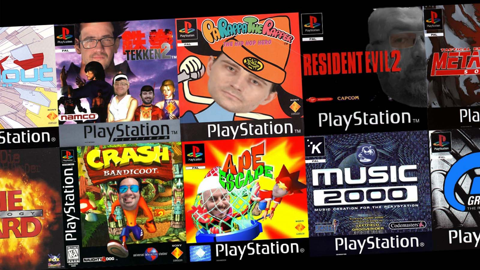 knowtechie roundtable members as playstation 1 games and other gaming