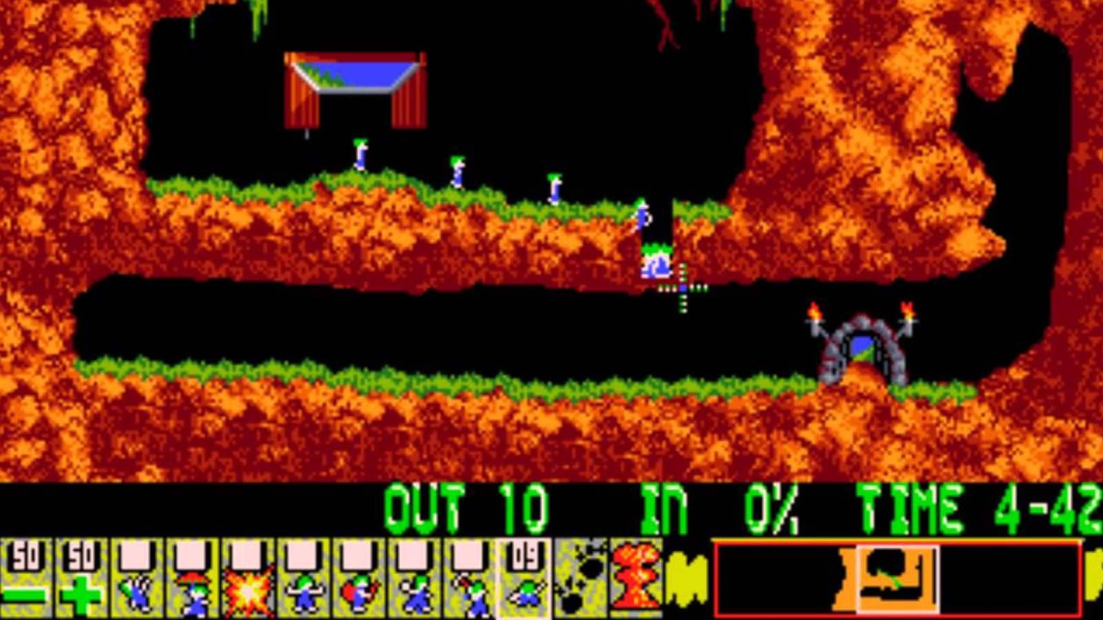 lemmings gameplay