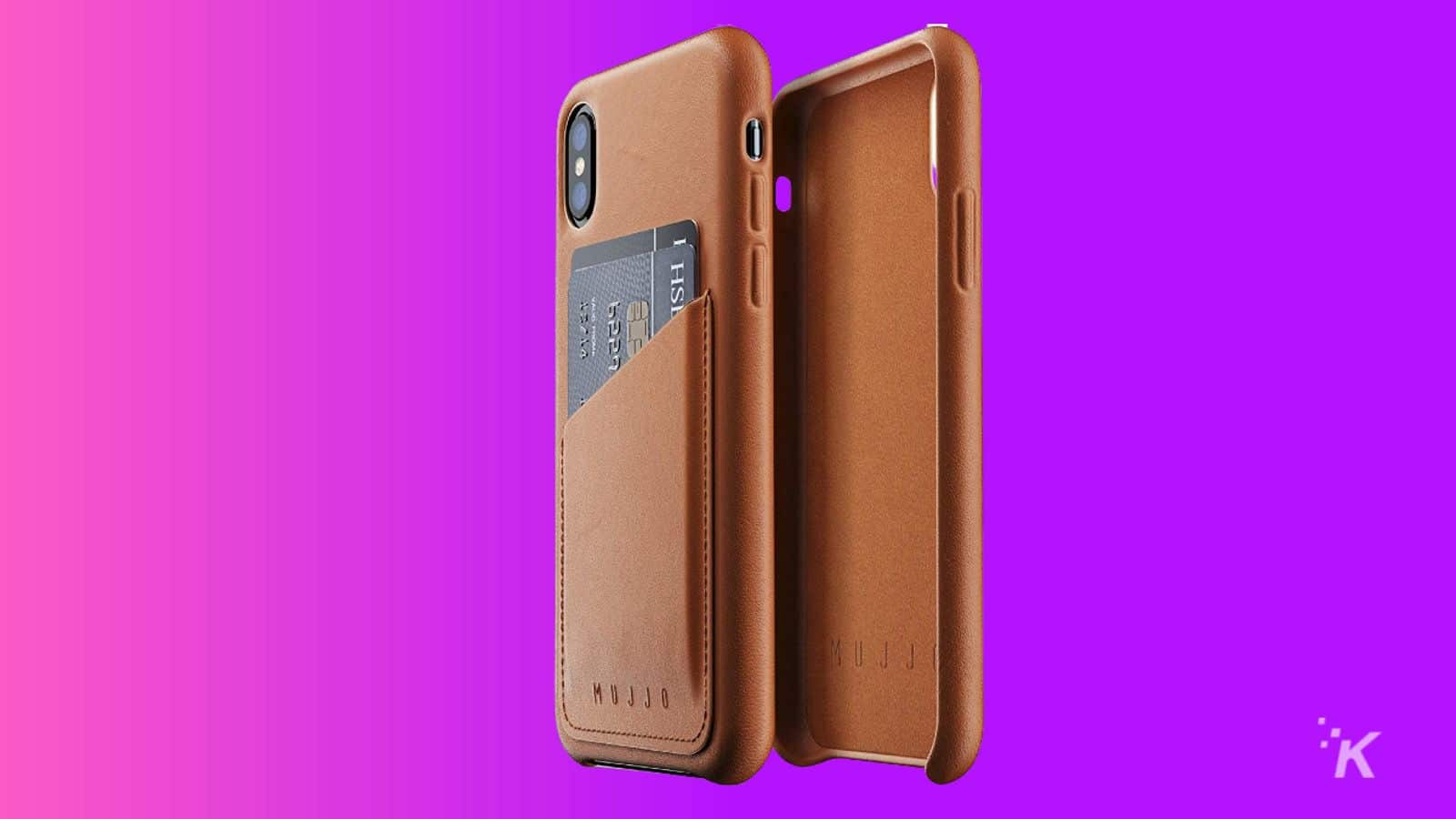 mujjo leather best iphone xs case knowtechie