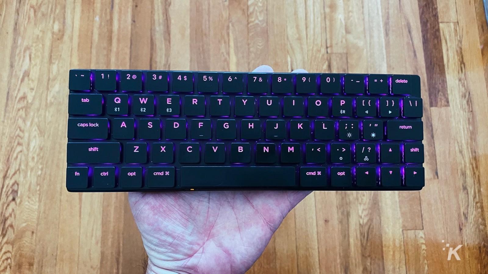 nuphy nutype mechanical keyboard macbook pro black