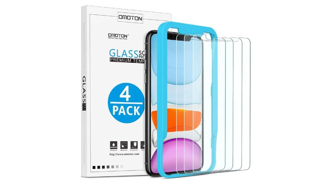 omoton best iphone 11 screen protector