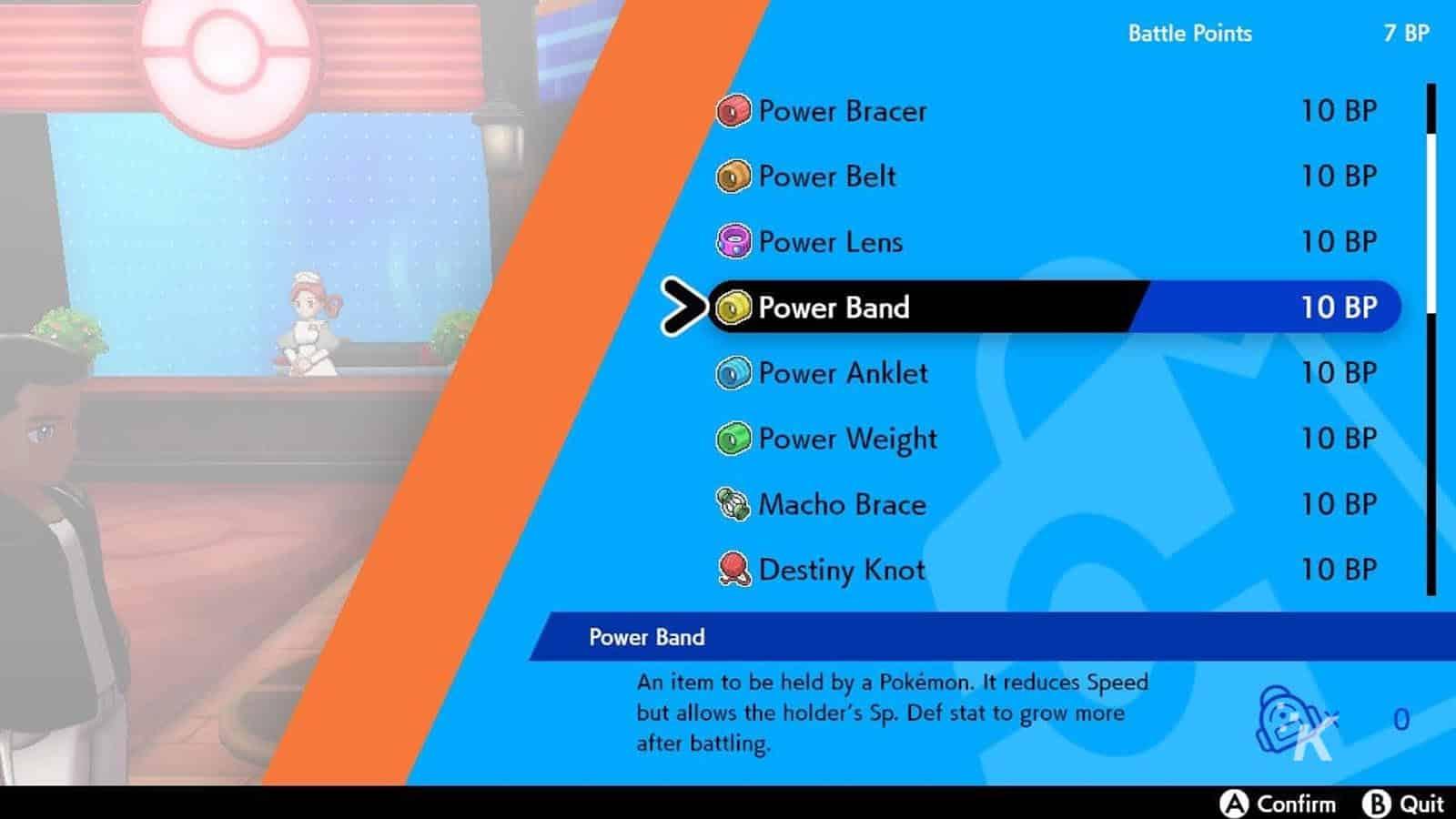 pokemon sword and shield power items