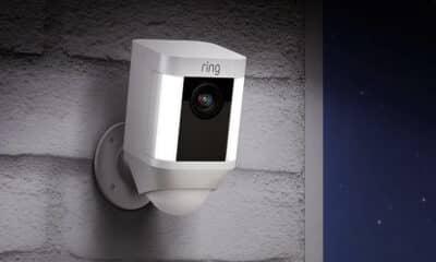 ring camera on wall