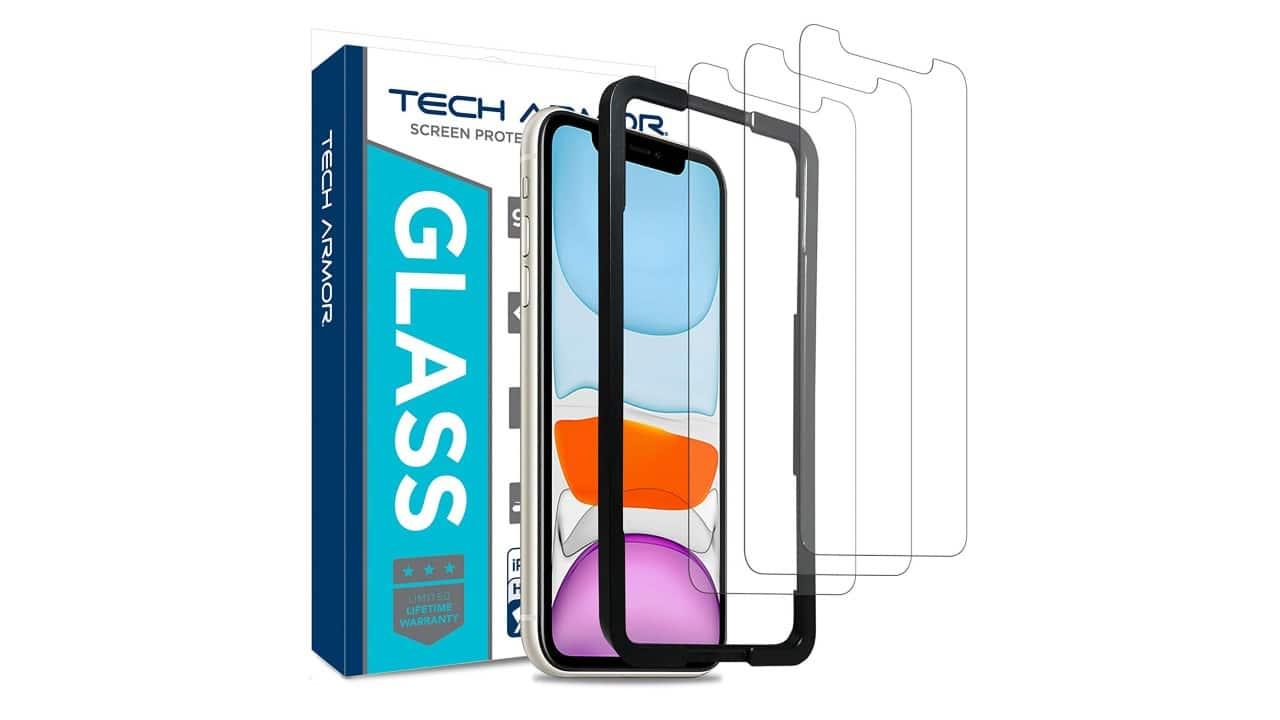 tech armor best iphone 11 screen protector