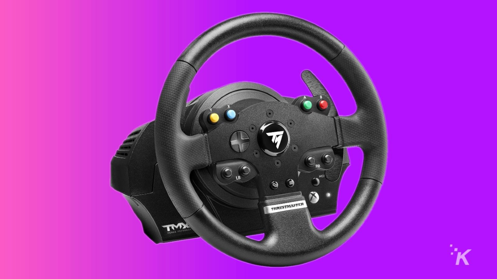 thrustmaster steering wheel for gamers