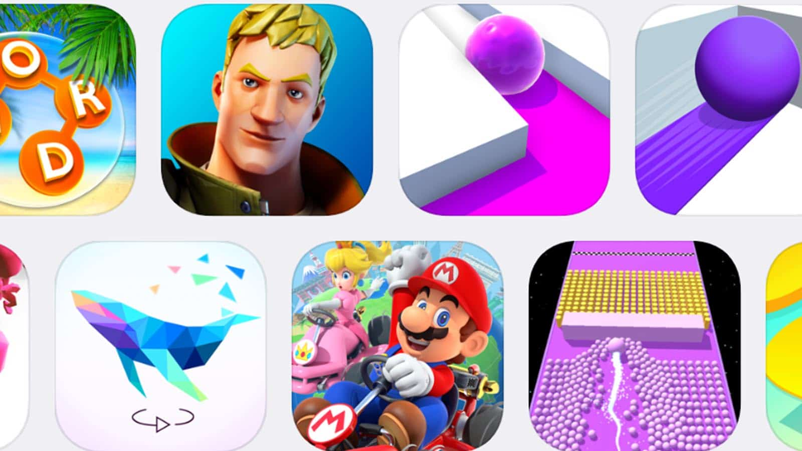 top downloaded games on apple iphone ios