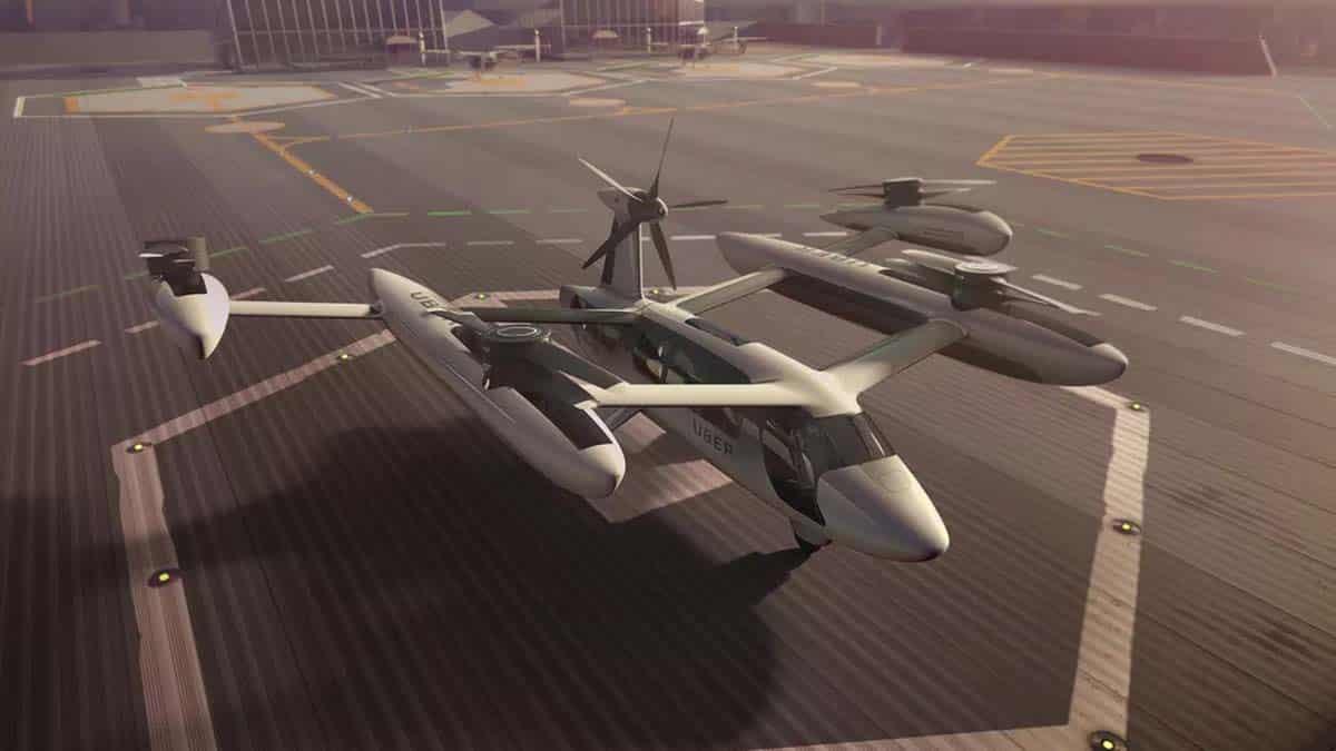 uber flying cars