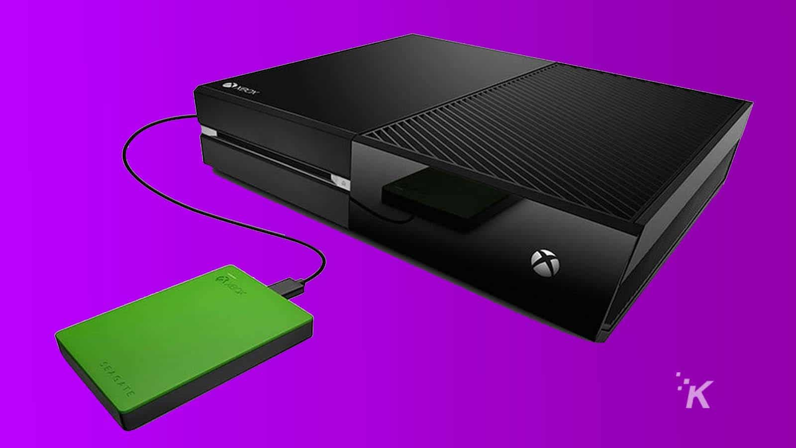 xbox one with an external hard drive