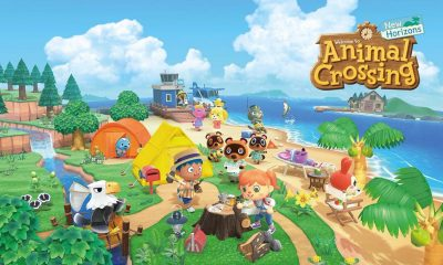 animal crossing new horizons main screen