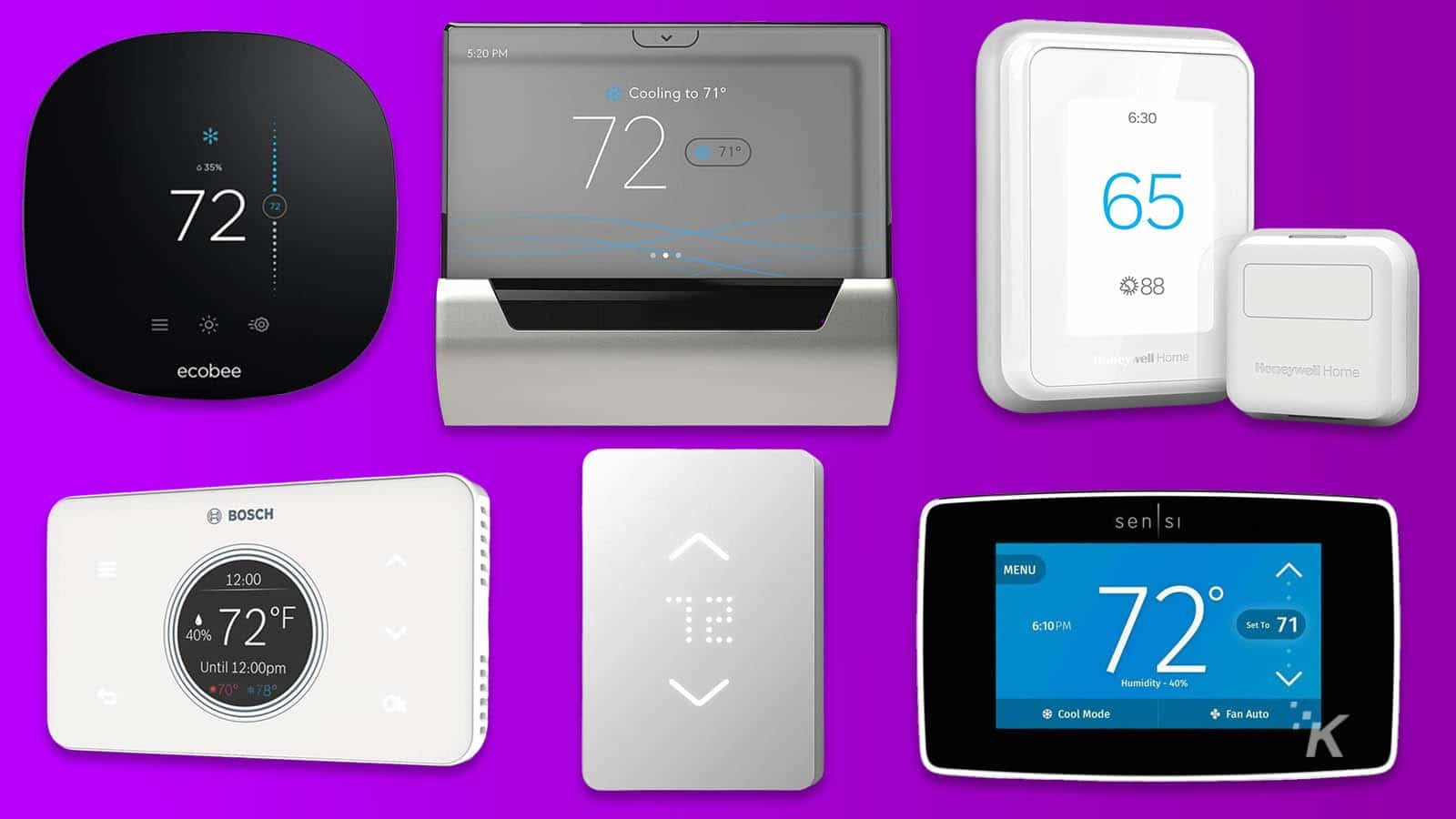 The Best Smart Thermostats For 2020 Knowtechie