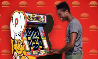 burgertime arcade1up