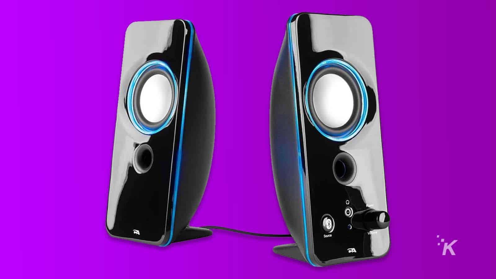 cyber bluetooth speaker