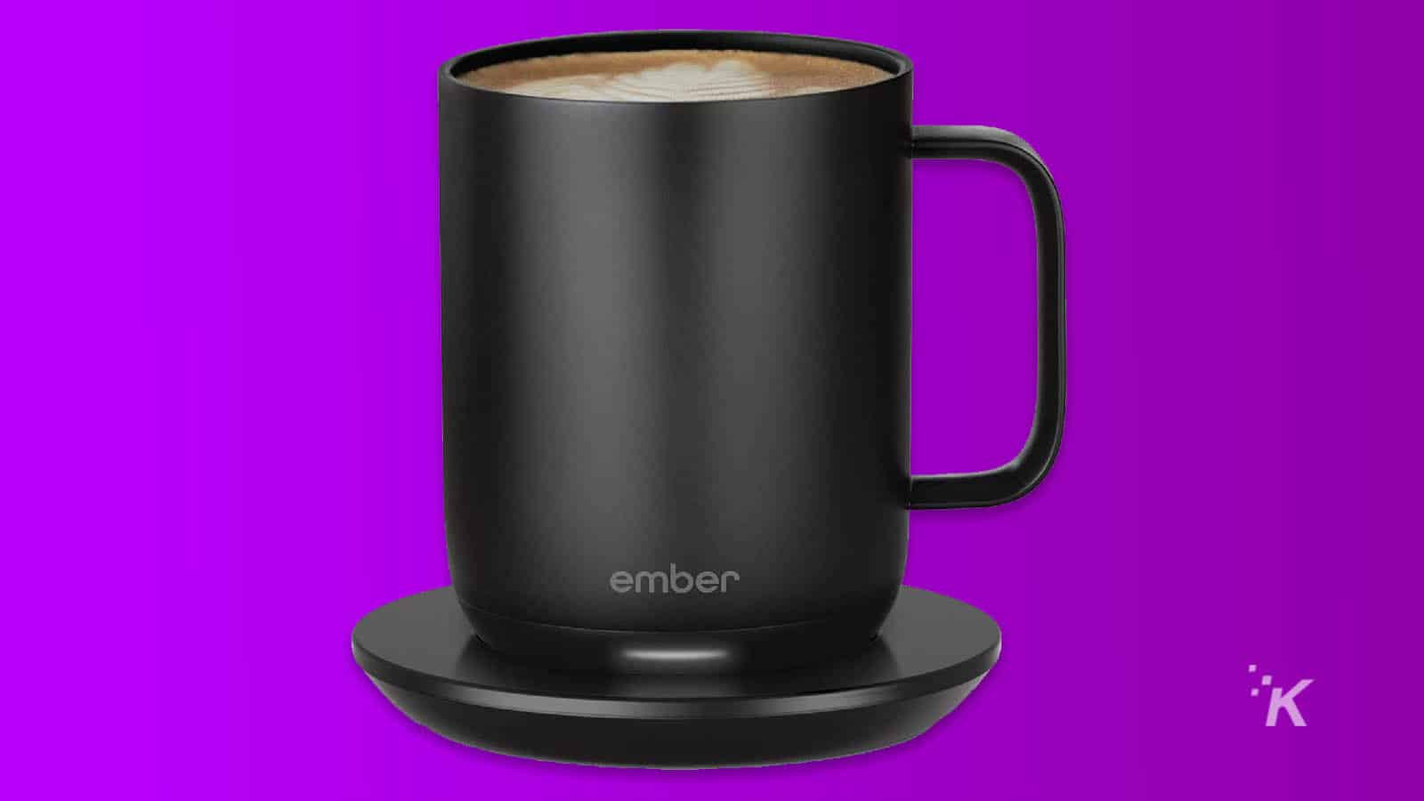 ember coffee mug for valentine's day