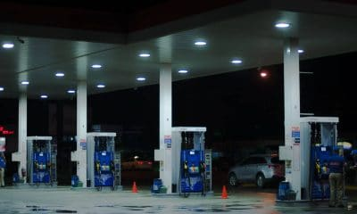 gas station with alexa