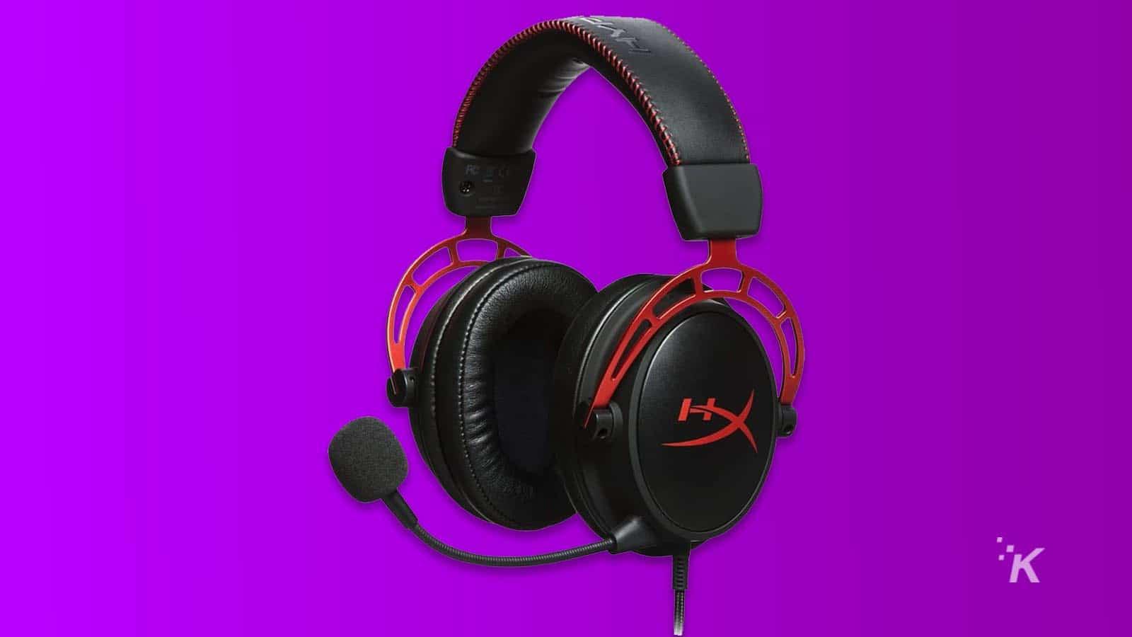 hyper x cloud gaming headset