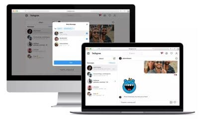 instagram direct messaging for web