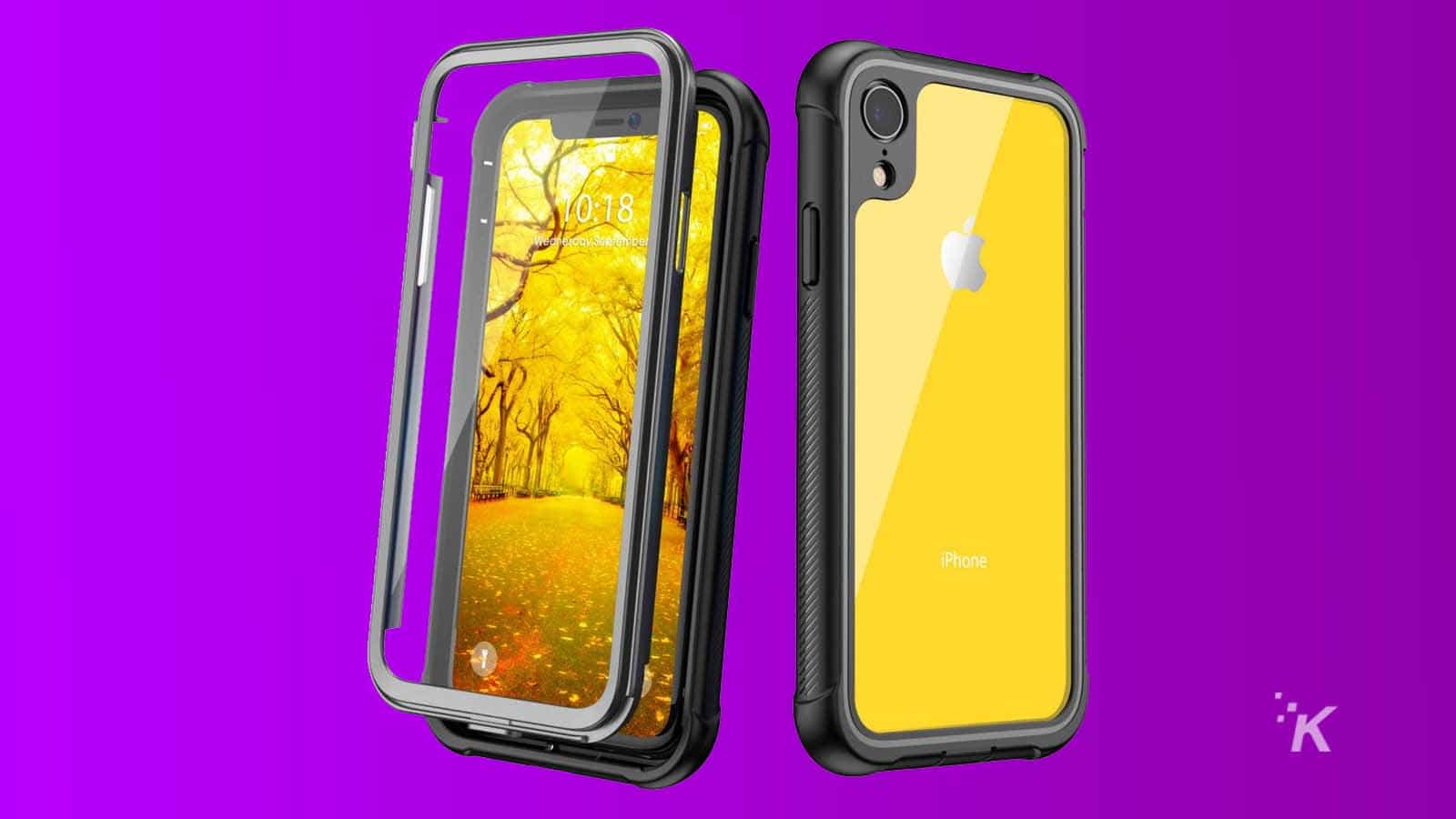 justcool crystal iphone xr case