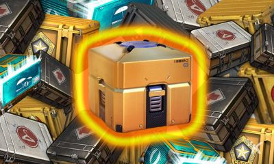 loot boxes stacked on top of each other